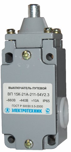 Выключатели путевые ВП15К-21Б-211-54